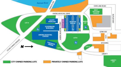 American Royal Complex Scott Pavilion Map On Mohorseshows Com